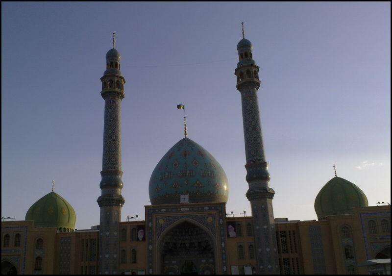 ورودی مسجد جمکران