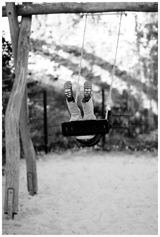 "Mein ""Schaukelbild"" // on a swing"