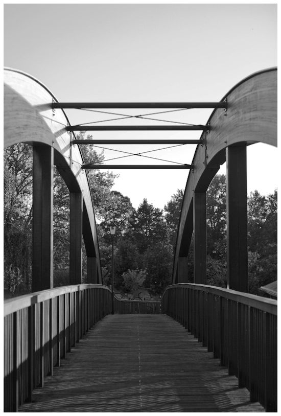 Brücke über die Näthewinde // wooden bridge