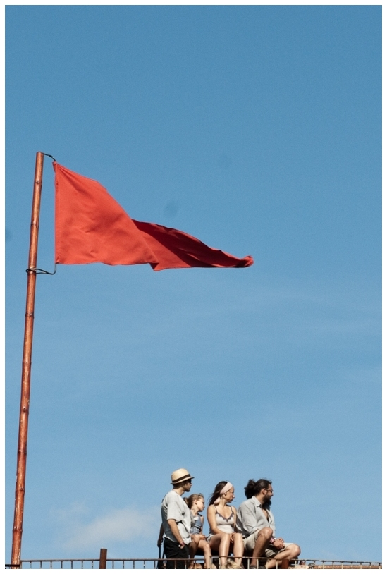 rote fahne / red flag