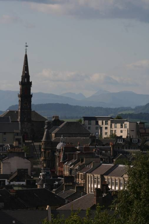 A view from Paisley