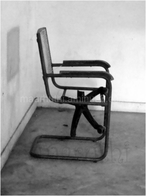 scary chair !!!