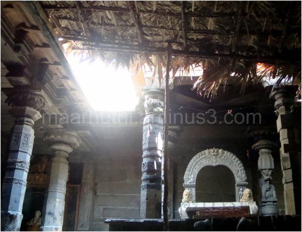 Inside de temple ....