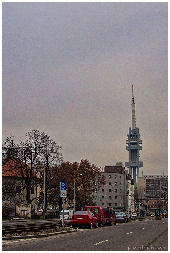 Žižkovská věž.