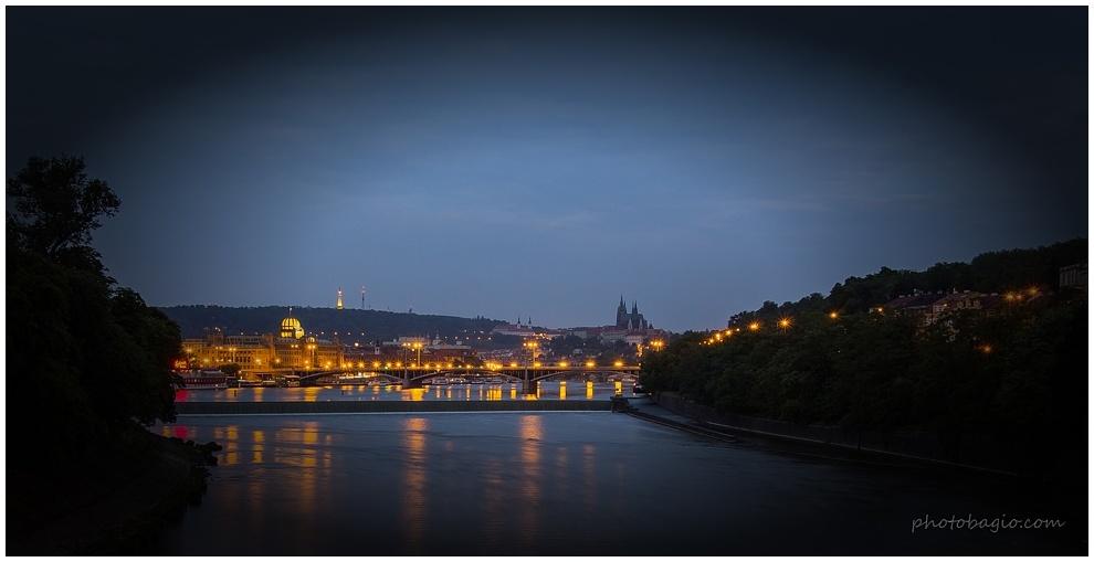 Prague by Night.