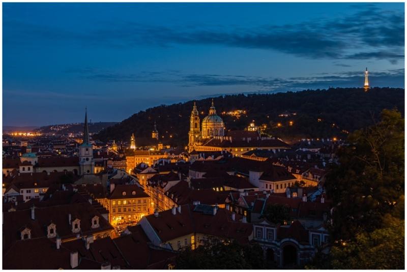 Prague evening.
