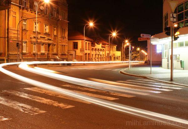 night street,