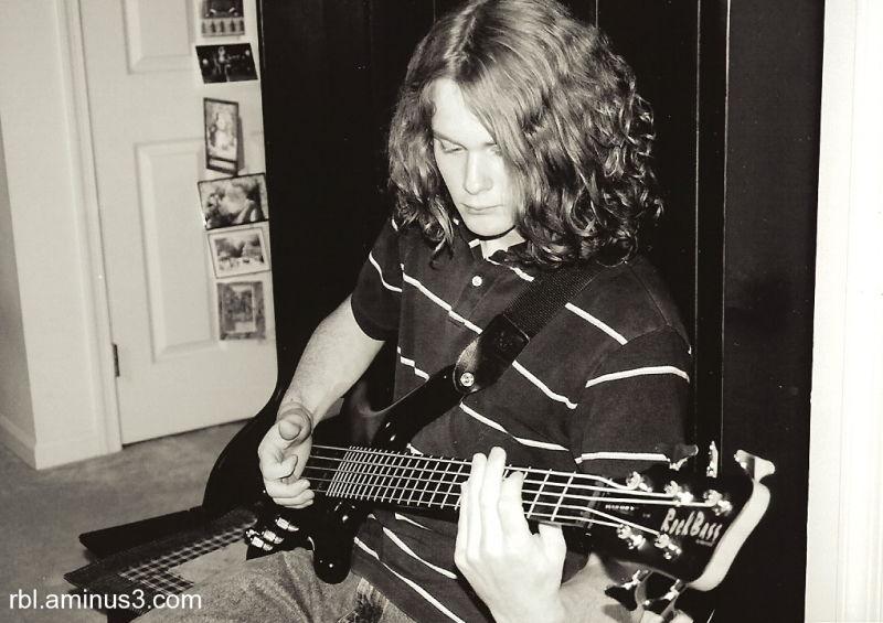bass guitar jam