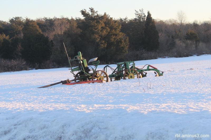 Amish Plow