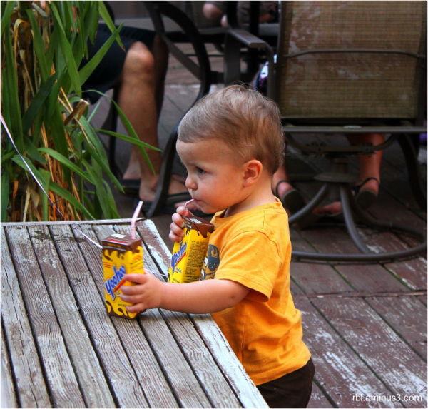 child with yoohoo