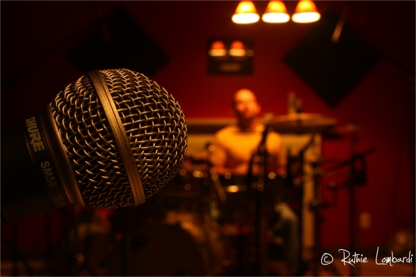 Recording Studio Shure mic