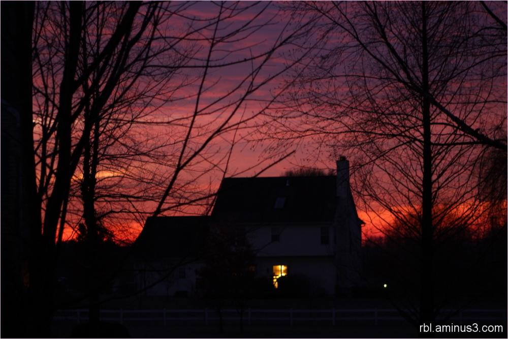 sunrise in oxford pennsylvania