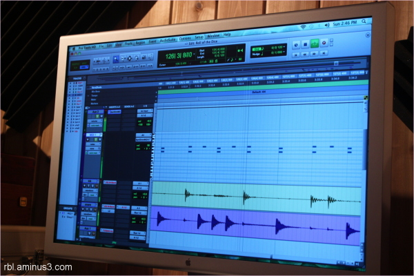 protools graphic display