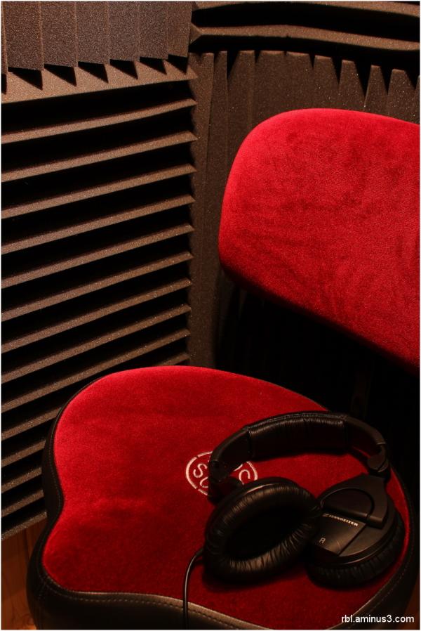 isolation booth in recording stuido