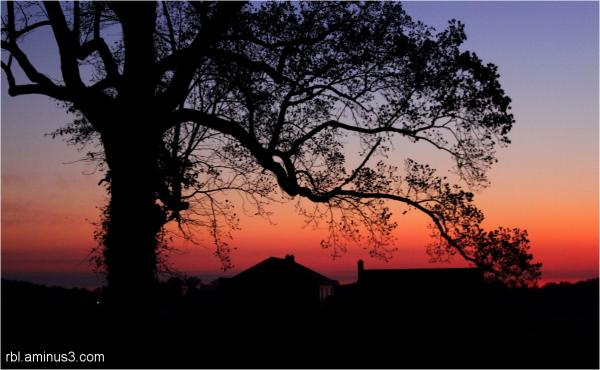 East Nottingham sunrise