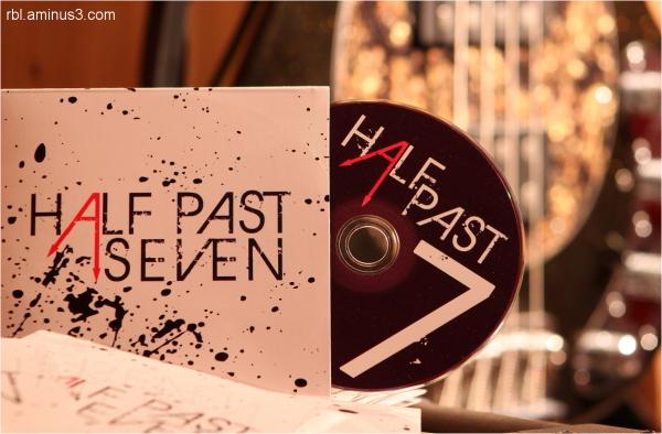 Half Past Seven CD Jacket