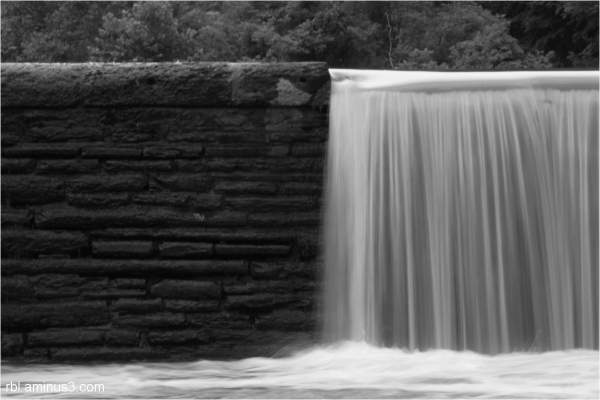 Waterfall at Octoraro Reservoir