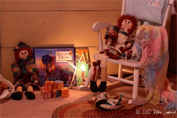 child's toy corner