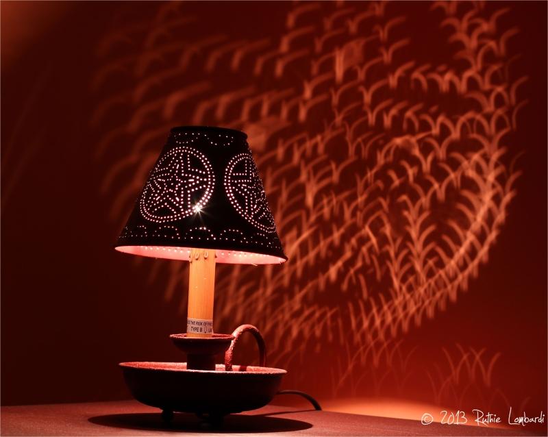 star light tin lamp