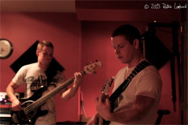 HP7 jamming in their studio