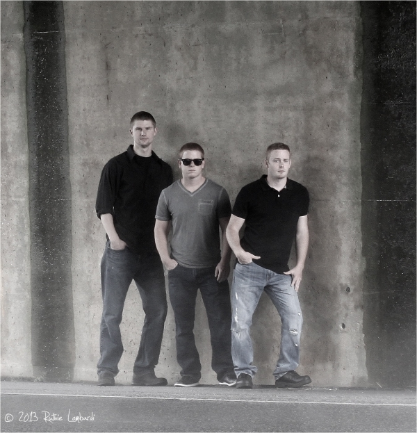 Half Past Seven Rock Band Photo Shoot