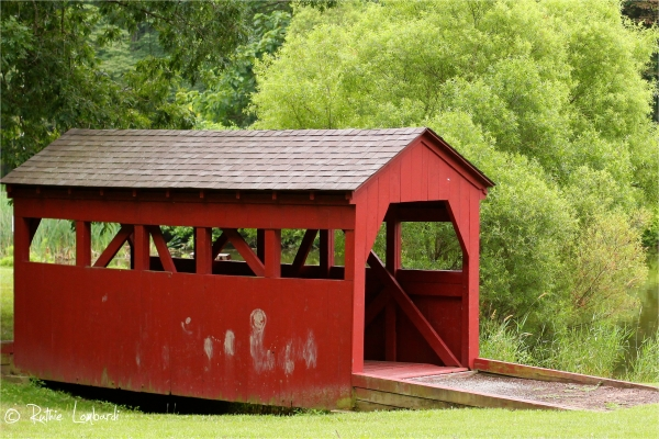 covered bridge at nottingham park