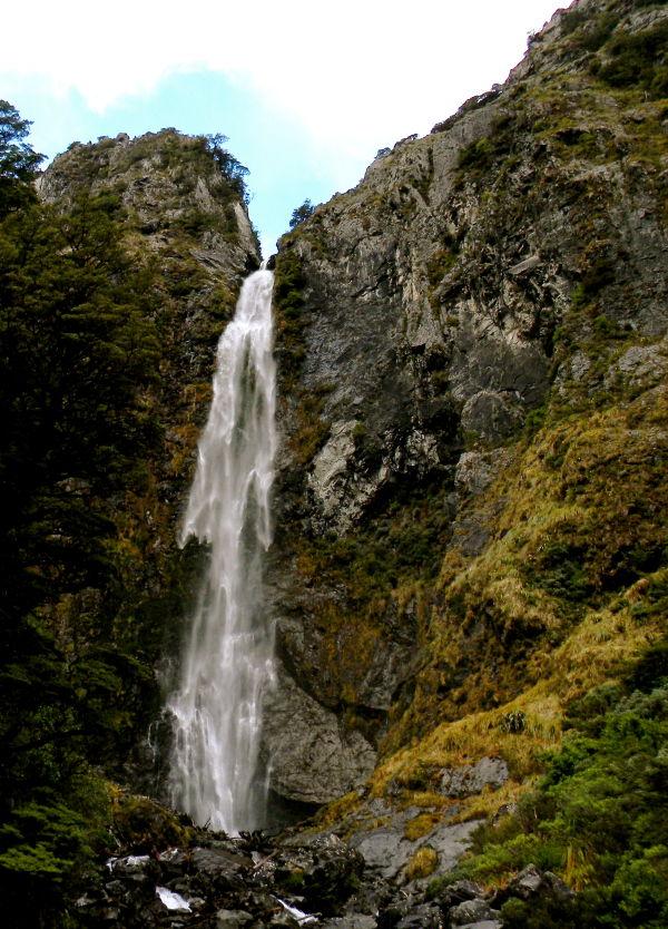 115 meter waterfall