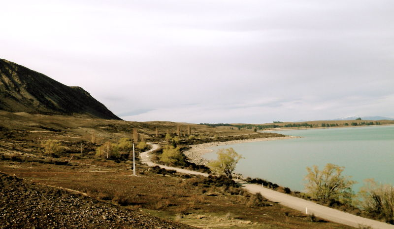 camping lake tekapo