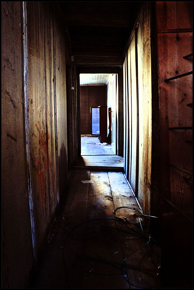 corridor in an old house