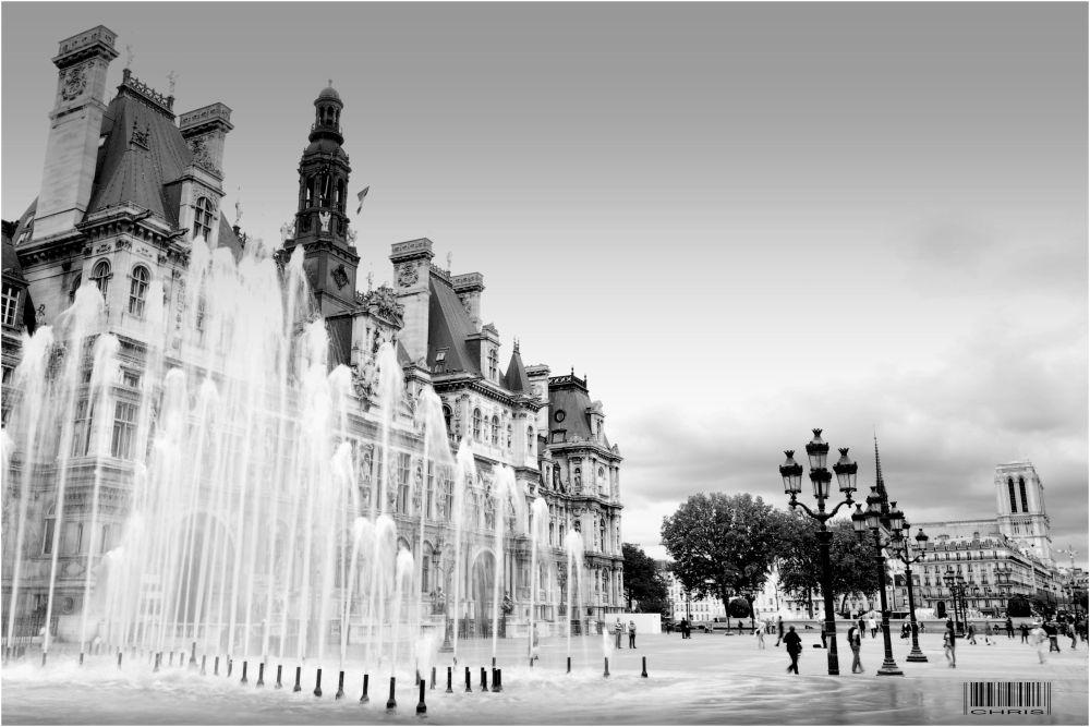 - Paris - Hotel de Ville -