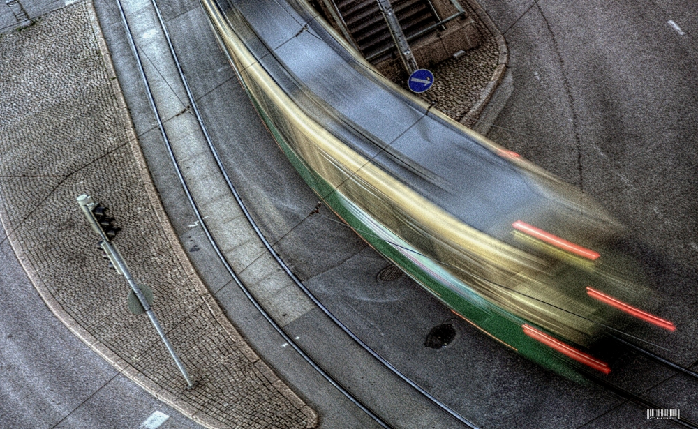 - Tram in Helsinki -