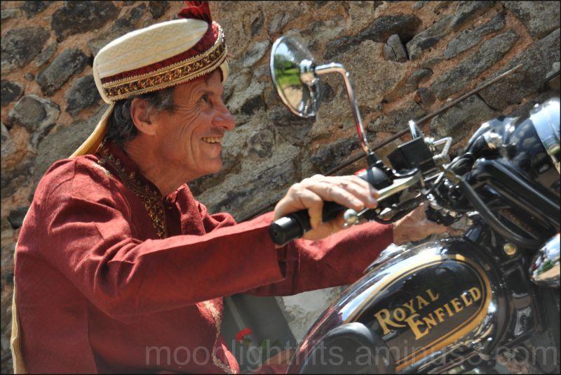 La moto des maharajas!