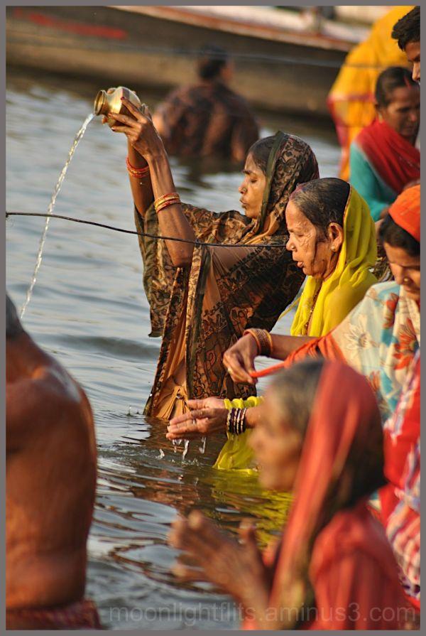 Prayer to Ganga - morning
