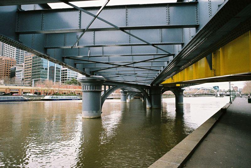 Sandridge Bridge, Yarra River, Melbourne