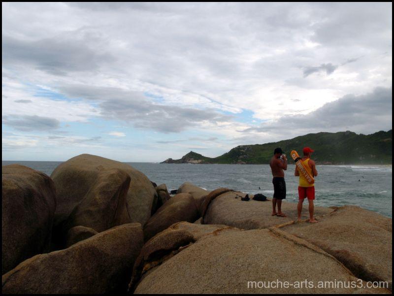 Florianópolis (Praia Do Mole), Brésil