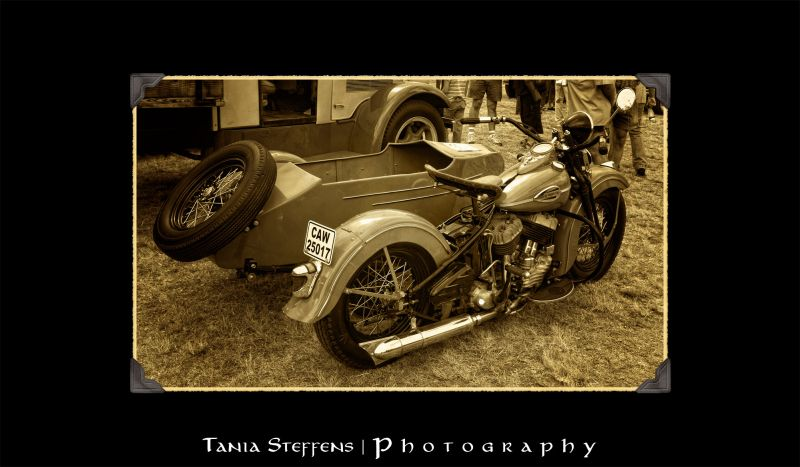 Classic Harley Davidson & Sidecar