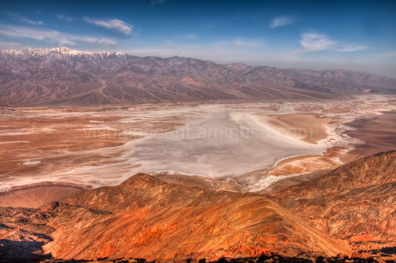 Death Valley, view from Dante's Peak