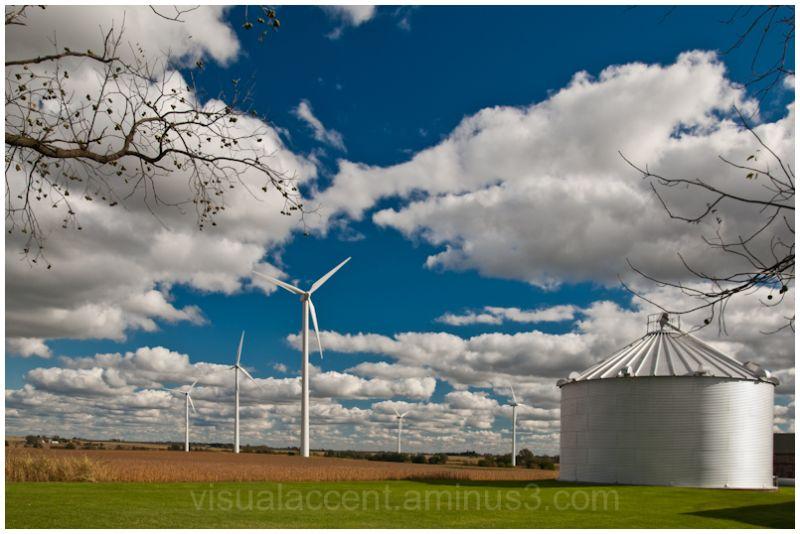 Wind Farm near Mendota IL