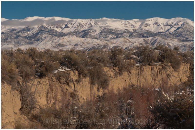 Clan Alpine Mountains along US 50, Nevada