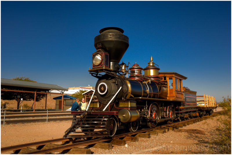 State Railroad Museum in Boulder City, Nevada