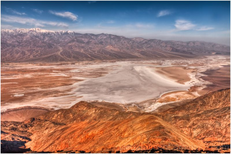 Dante's Peak, Death Valley, California
