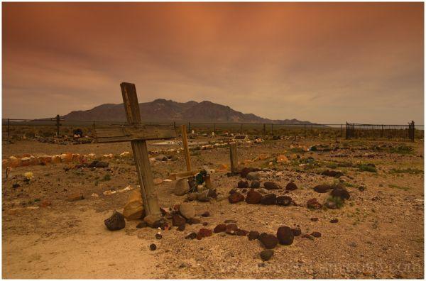 Bullfrog Cemetery, Rhyolite, Nevada