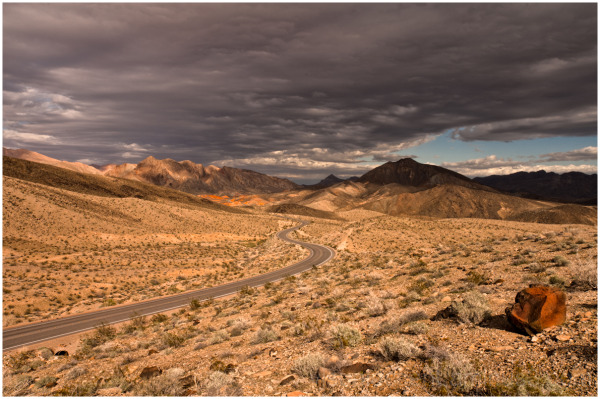 Along Route 167 to Overton, Nevada