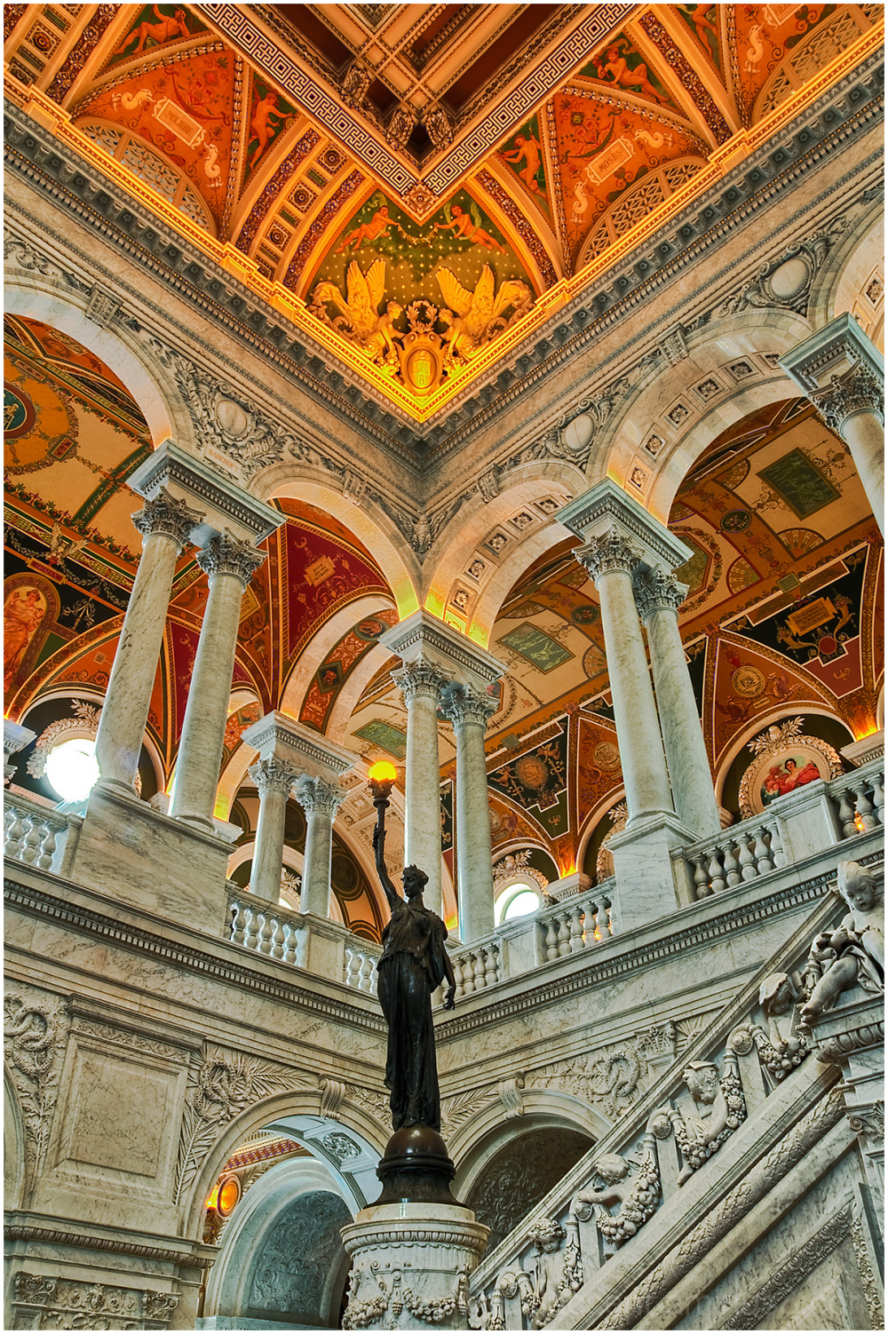 The Library of Congress, Washington DC, USA