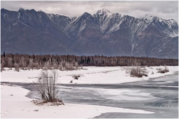 Alaska, Matanuska-Susitna, Knik-River