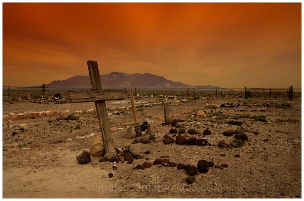 Amargosa Valley Cemetery, Nevada, USA