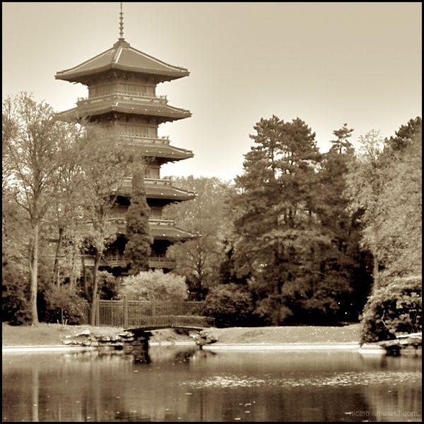 La tour Japonaise ...