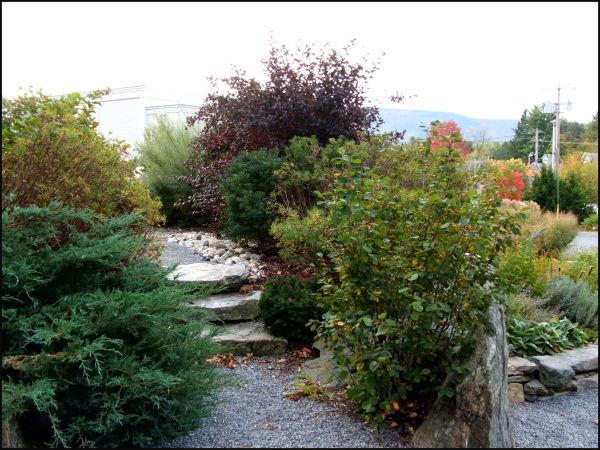 vermont garden path