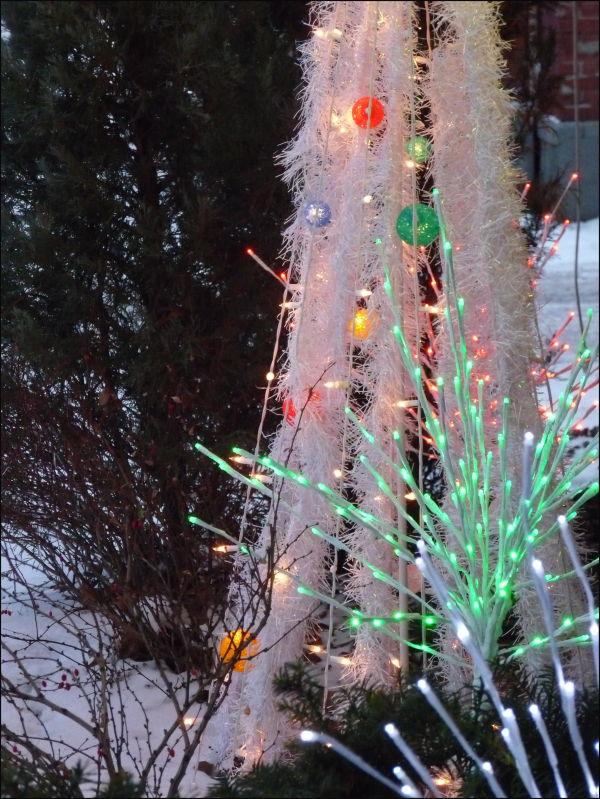 Small town christmas hardware lights
