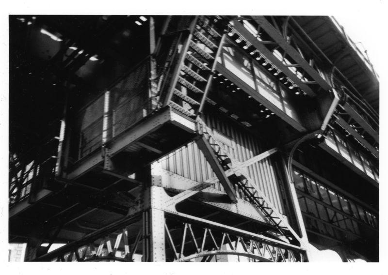 massive steel structure